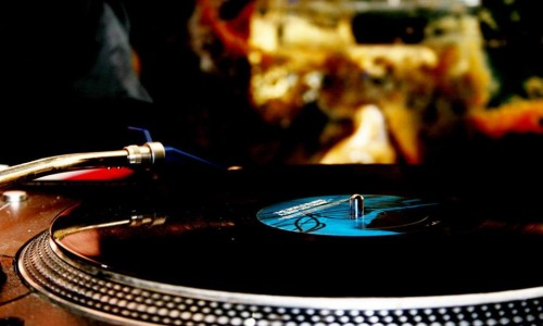 Vinyl-DJ-Set
